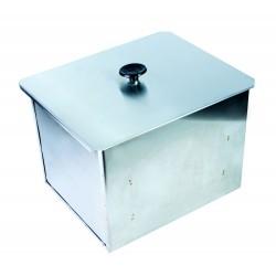Коптильня для горячего копчения двухъярусная из нержавеющей стали