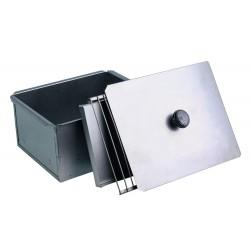 Коптильня для горячего копчения одноярусная из черной стали