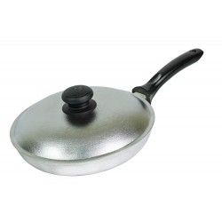 Сковорода 260 с пластмассовой ручкой (мелкая)